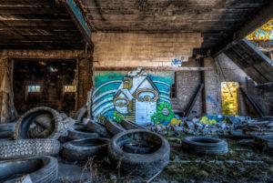 tires and graff