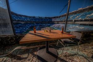 stadium dining