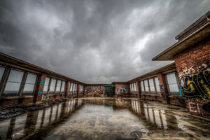 terrace reflection