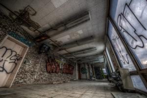 hallway tv