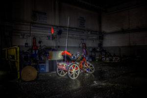 trike in the dark